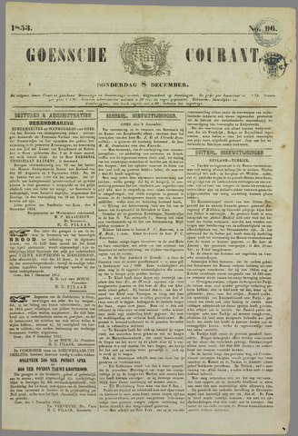 Goessche Courant 1853-12-08