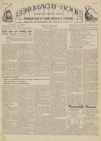 Eendrachtbode (1945-heden)/Mededeelingenblad voor het eiland Tholen (1944/45) 1959-05-22