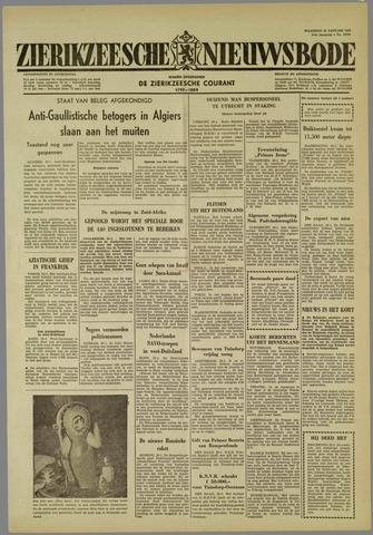 Zierikzeesche Nieuwsbode 1960-01-25