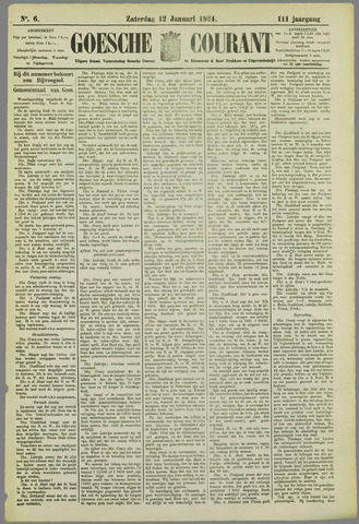 Goessche Courant 1924-01-12