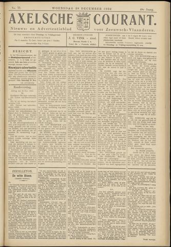 Axelsche Courant 1932-12-28