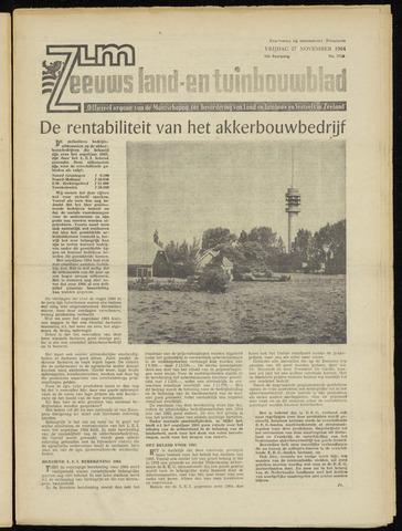 Zeeuwsch landbouwblad ... ZLM land- en tuinbouwblad 1964-11-27