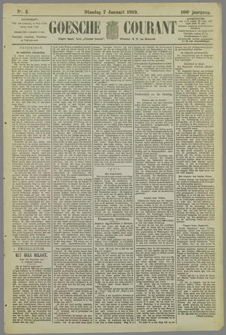 Goessche Courant 1919-01-07