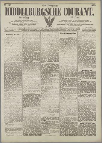 Middelburgsche Courant 1895-06-22