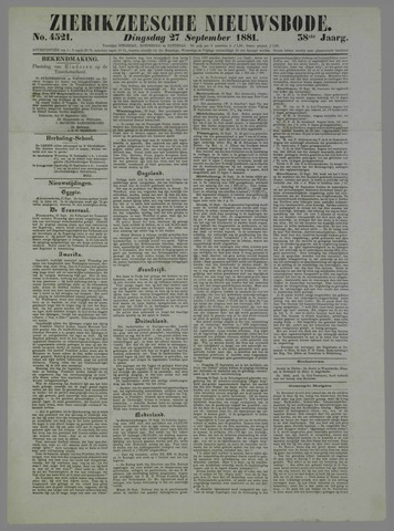 Zierikzeesche Nieuwsbode 1881-09-27