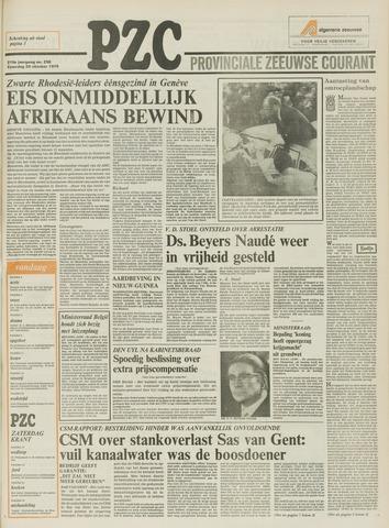 Provinciale Zeeuwse Courant 1976-10-30