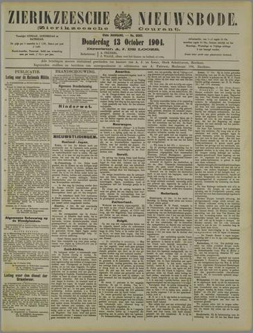 Zierikzeesche Nieuwsbode 1904-10-13