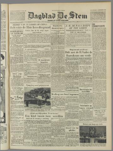 de Stem 1950-12-07