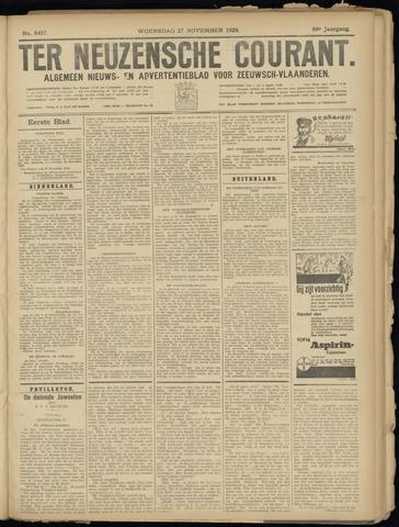 Ter Neuzensche Courant. Algemeen Nieuws- en Advertentieblad voor Zeeuwsch-Vlaanderen / Neuzensche Courant ... (idem) / (Algemeen) nieuws en advertentieblad voor Zeeuwsch-Vlaanderen 1929-11-27