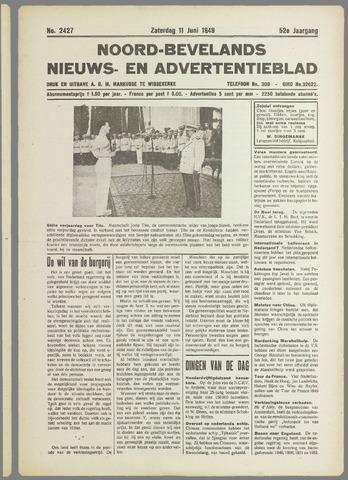 Noord-Bevelands Nieuws- en advertentieblad 1949-06-11