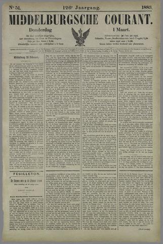 Middelburgsche Courant 1883-03-01