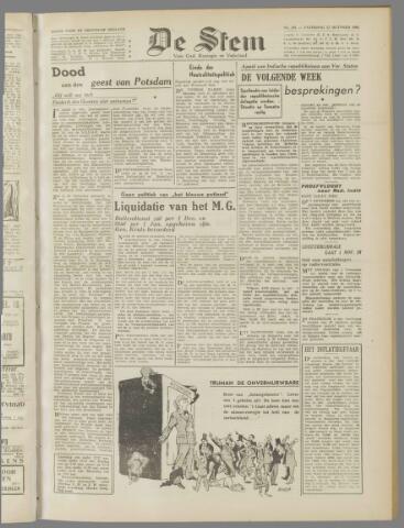 de Stem 1945-10-27