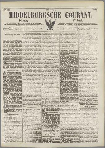 Middelburgsche Courant 1899-06-27
