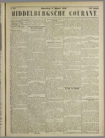 Middelburgsche Courant 1919-03-17