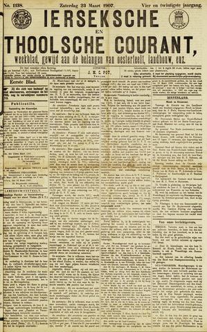 Ierseksche en Thoolsche Courant 1907-03-23