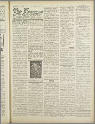 De Zeeuw. Christelijk-historisch nieuwsblad voor Zeeland 1944-04-03