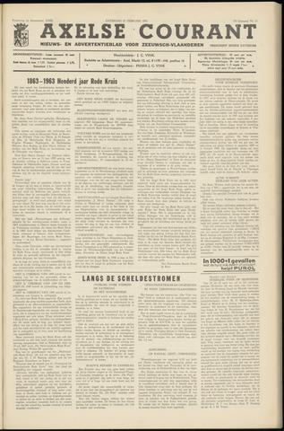 Axelsche Courant 1963-02-23