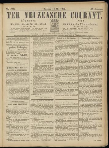 Ter Neuzensche Courant. Algemeen Nieuws- en Advertentieblad voor Zeeuwsch-Vlaanderen / Neuzensche Courant ... (idem) / (Algemeen) nieuws en advertentieblad voor Zeeuwsch-Vlaanderen 1902-05-17