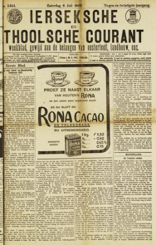 Ierseksche en Thoolsche Courant 1912-07-06