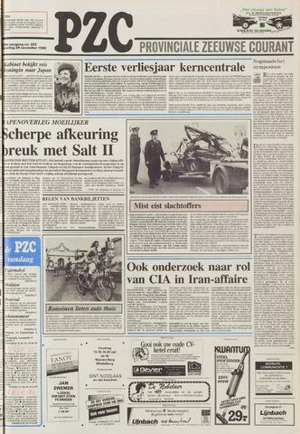 Provinciale Zeeuwse Courant 1986-11-29