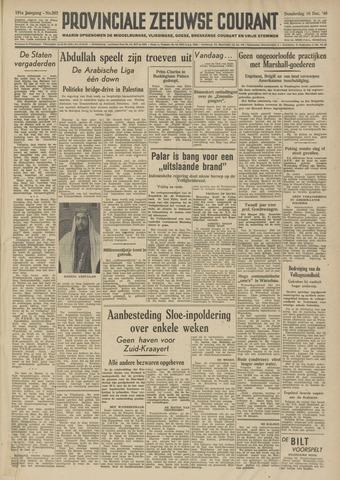 Provinciale Zeeuwse Courant 1948-12-16
