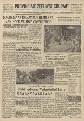 Provinciale Zeeuwse Courant 1959-07-29
