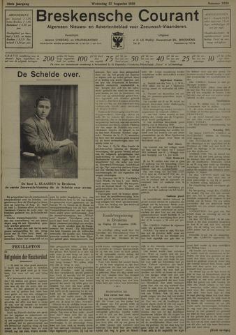 Breskensche Courant 1930-08-27