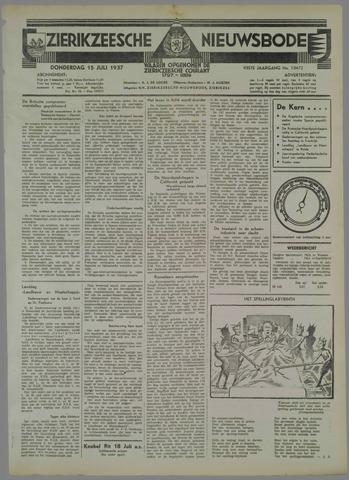 Zierikzeesche Nieuwsbode 1937-07-15