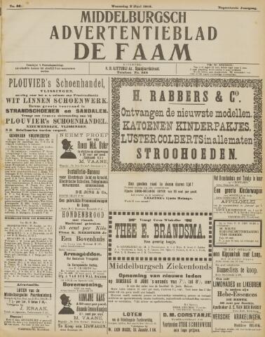 de Faam en de Faam/de Vlissinger 1915-06-02