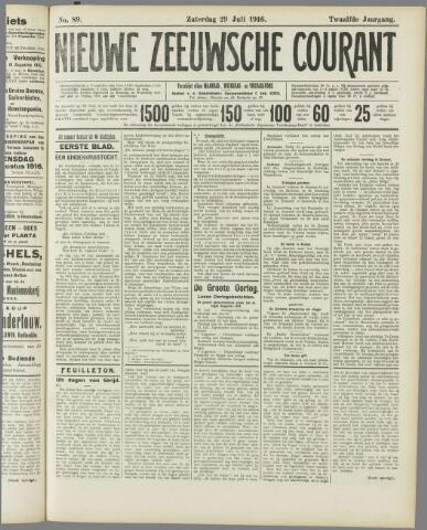 Nieuwe Zeeuwsche Courant 1916-07-29