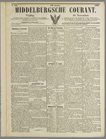 Middelburgsche Courant 1905-11-10