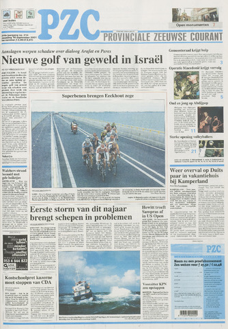 Provinciale Zeeuwse Courant 2001-09-10