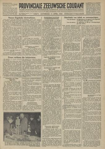 Provinciale Zeeuwse Courant 1942-04-11