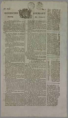 Goessche Courant 1821