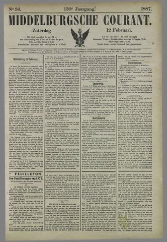 Middelburgsche Courant 1887-02-12