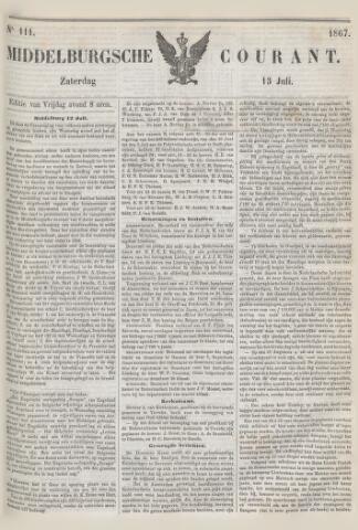 Middelburgsche Courant 1867-07-13