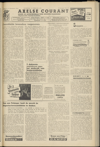 Axelsche Courant 1955-02-12