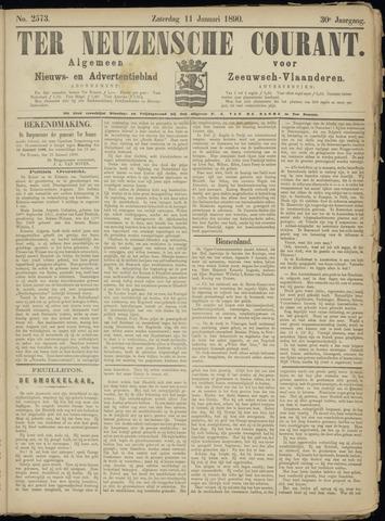Ter Neuzensche Courant. Algemeen Nieuws- en Advertentieblad voor Zeeuwsch-Vlaanderen / Neuzensche Courant ... (idem) / (Algemeen) nieuws en advertentieblad voor Zeeuwsch-Vlaanderen 1890-01-11