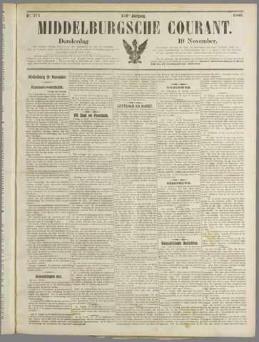 Middelburgsche Courant 1908-11-19
