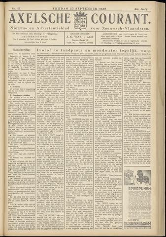 Axelsche Courant 1938-09-23