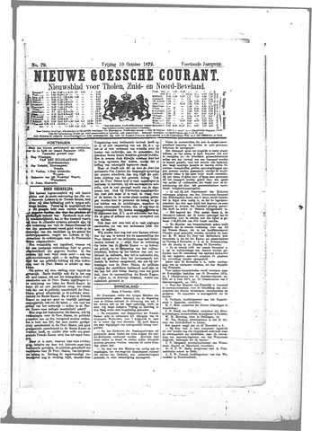 Nieuwe Goessche Courant 1879-10-10