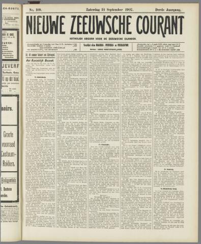 Nieuwe Zeeuwsche Courant 1907-09-14