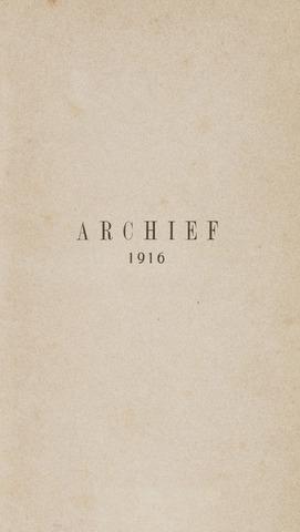 Archief 1916-01-01