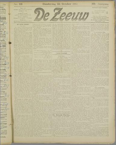 De Zeeuw. Christelijk-historisch nieuwsblad voor Zeeland 1917-10-25