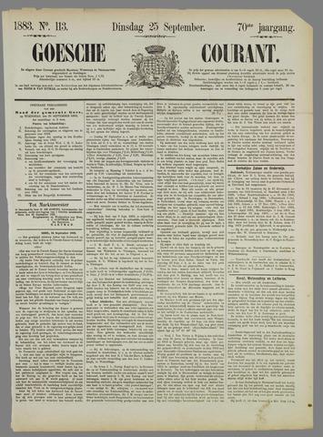 Goessche Courant 1883-09-25