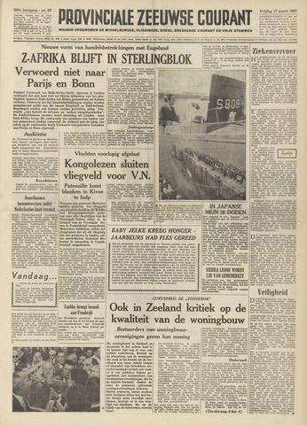 Provinciale Zeeuwse Courant 1961-03-17