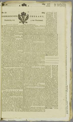Middelburgsche Courant 1809-05-04