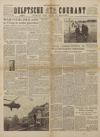 Watersnood documentatie 1953 - kranten 1953-02-18