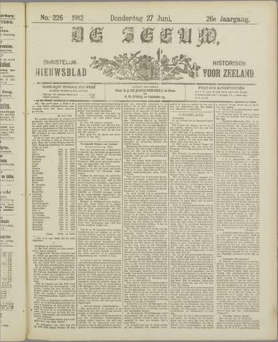 De Zeeuw. Christelijk-historisch nieuwsblad voor Zeeland 1912-06-27
