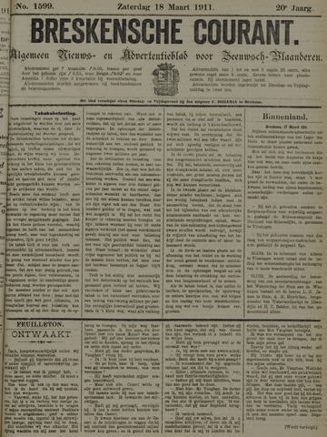 Breskensche Courant 1911-03-18